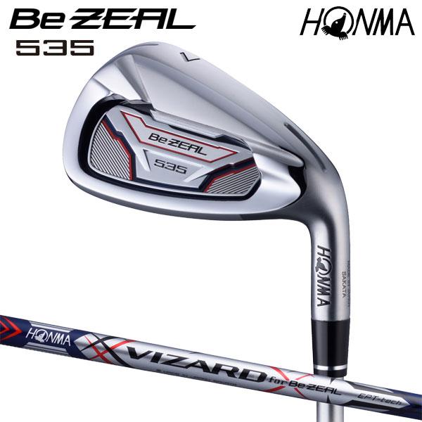 本間ゴルフ Be ZEAL535アイアンセット VIZARDシャフト 5本(#6~#10) HONMA GOLF ビジール 日本正規品