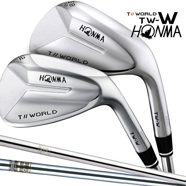本間ゴルフ TW-W(Iソール/Cソール) N.S.PRO 950GH/Dynamic ゴールド スチールシャフト 2018年モデル HONMA GOLF 日本正規品