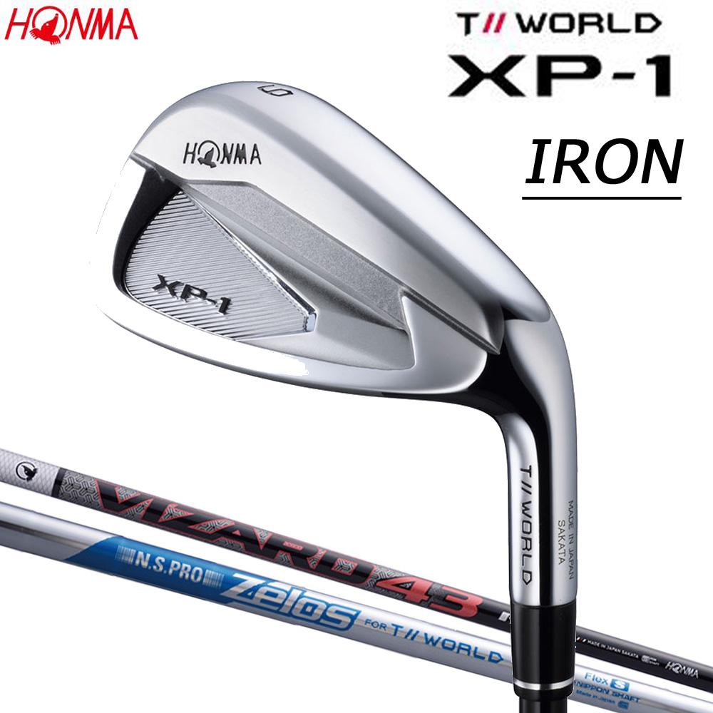 本間ゴルフ (HONMA GOLF) T//WORLD XP-1 アイアン IR 単品 (#4.5.11.SW) スチールシャフト N.S.PRO Zelos FOR T//WORLD 日本正規品