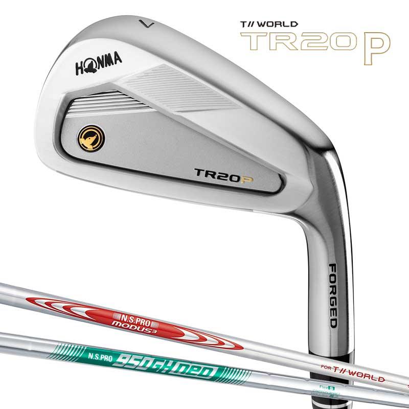本間ゴルフ T//WORLD TR20 P アイアンセット 6本組 (#6-#11) スチールシャフト N.S.PRO MODUS3 950GH neo HONMA GOLF 日本正規品