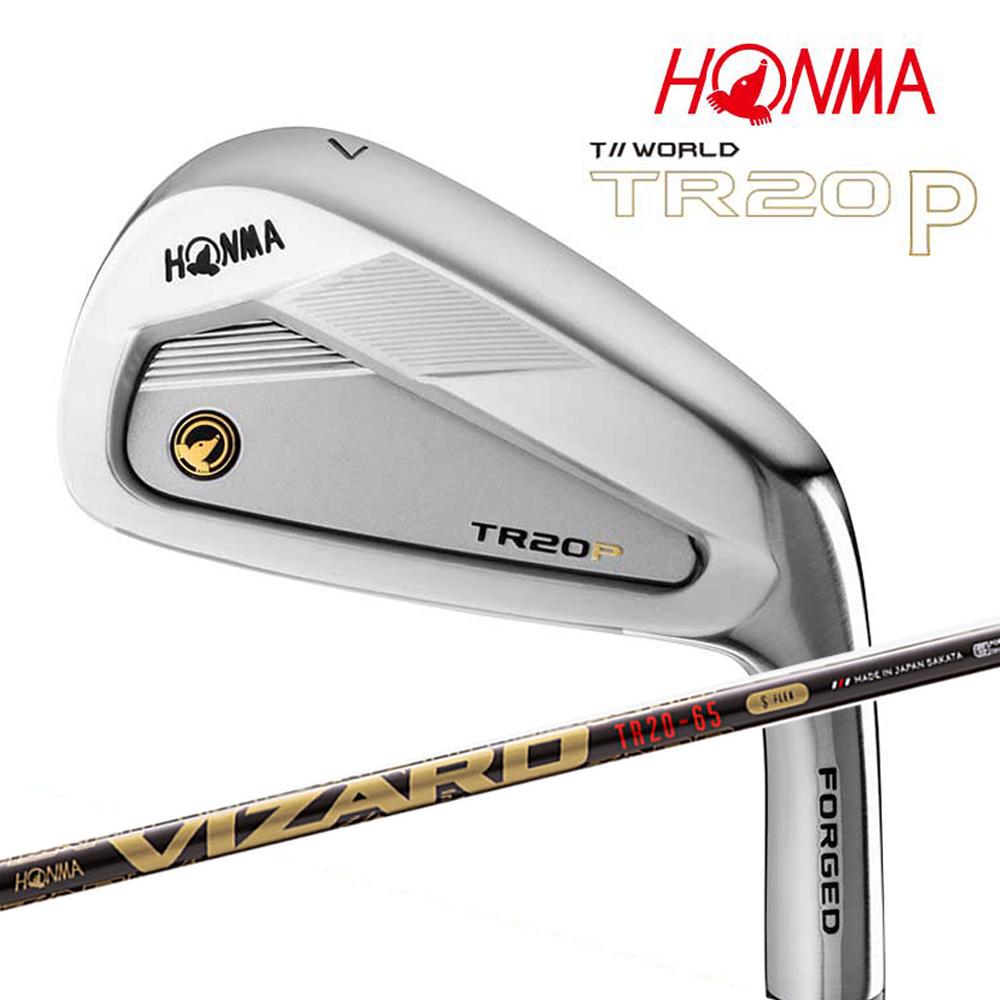 本間ゴルフ T//WORLD TR20 P アイアンセット 6本組 (#6-#11) カーボンシャフト VIZARD TR20-65 HONMA GOLF 日本正規品
