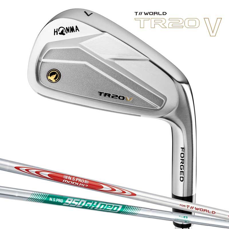 本間ゴルフ T//WORLD TR20 V アイアン単品 (#4、#11) スチールシャフト N.S.PRO MODUS3 950GH neo HONMA GOLF 日本正規品