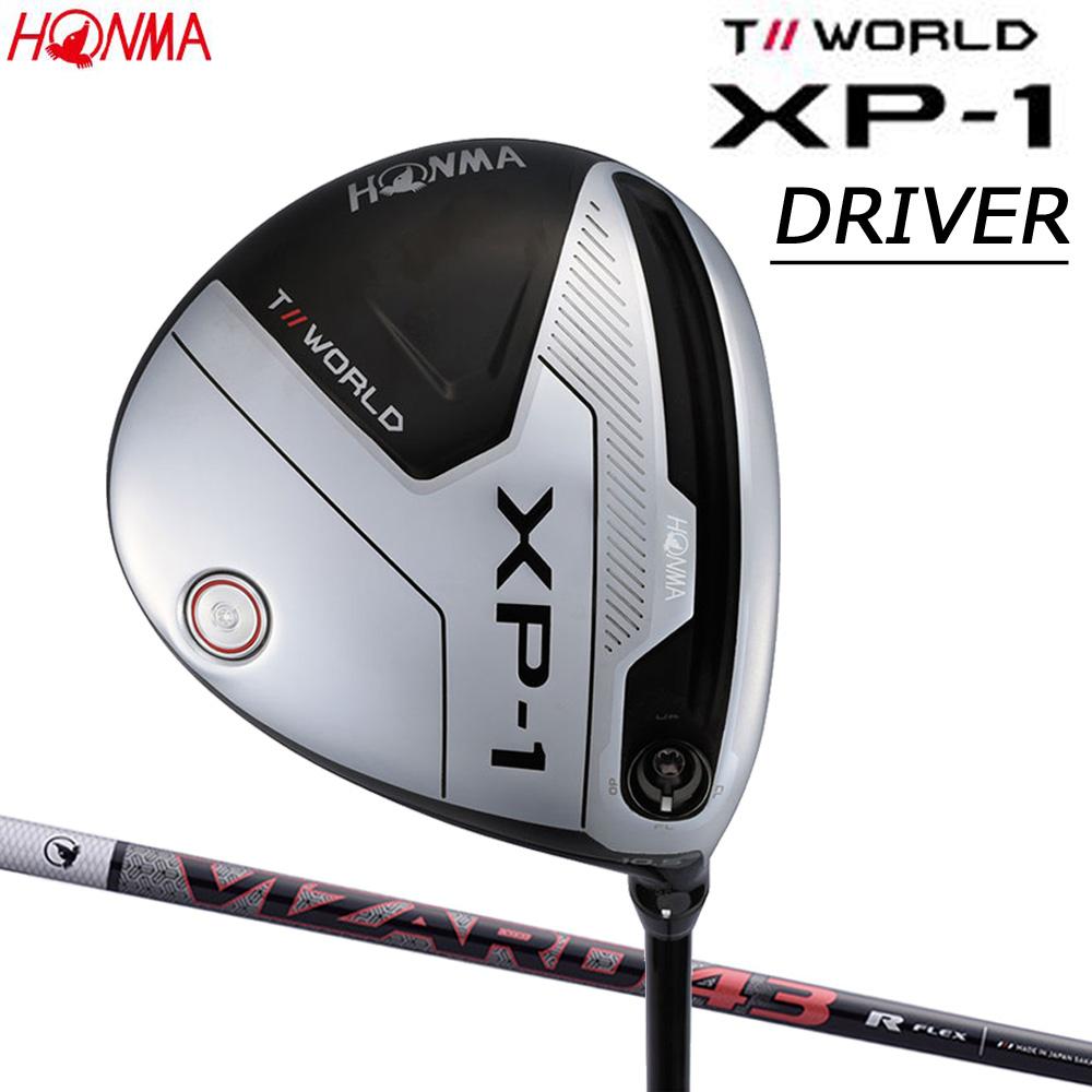 本間ゴルフ (HONMA GOLF) T//WORLD XP-1 ドライバー DR カーボンシャフト VIZARD 43 日本正規品
