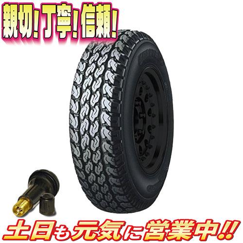 サマータイヤ 2本セット ダンロップ GRANDTREK TG4 145/R12インチ 新品 バルブ付 145R12 軽トラ バン