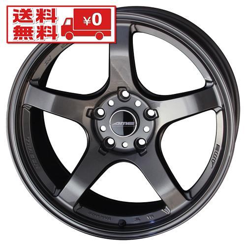 ホイール 共豊 AME TRACER GT-V GBK 18インチ 4本セット 5H114.3 10.5J+15 73.1 業販4本購入で送料無料 4G トレーサー フェアレディZ Z34 Z33 USDM