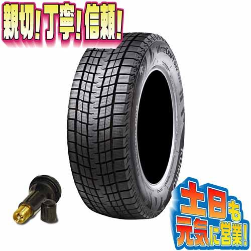 スタッドレスタイヤ 1本のみ クムホ メーカーW保証キャンペーン WINTERCRAFT SUV WS61 215/60R17インチ 激安販売aA