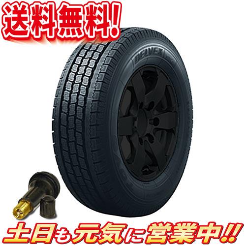 スタッドレスタイヤ 2本セット トーヨータイヤ DELVEX 934 荷重6PR 145R12インチ 送料無料AA