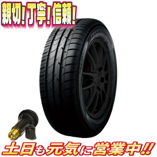 サマータイヤ 1本 トーヨー TRANPATH MPZ 215/70R16インチ 新品 バルブ付 ミニバン エコタイヤ