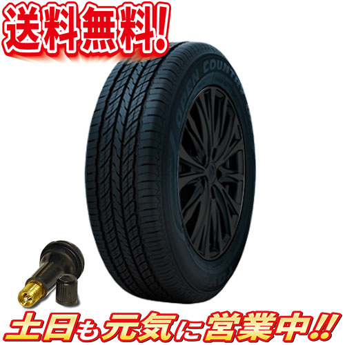 サマータイヤ 2本セット トーヨー OPEN COUNTRY U/T 265/70R16インチ 送料無料 バルブ付