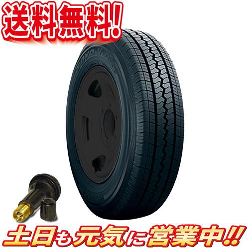 サマータイヤ 2本セット トーヨー VAN V-02e 155/80R14インチ 送料無料 バルブ付 バン 商用車 LT 155/80-14