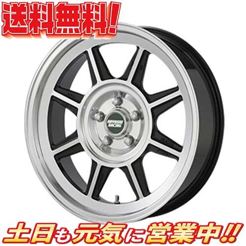 HAYASHI RACING ハヤシストリート TYPE STL BLP 1本のみ 17 5H100 7.5J+35 4本購入で送料無料