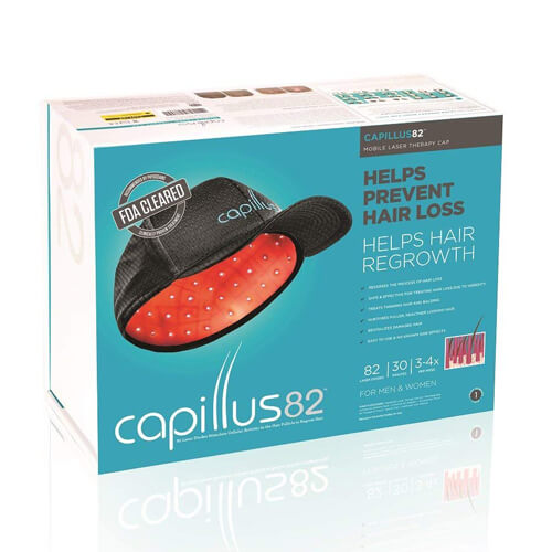 カピラス 82(Capillus 82)[ 低出力レーザー器 / 頭皮ケア / キャプラス / カピラス / セラドーム1年保証付き ]【大好評】