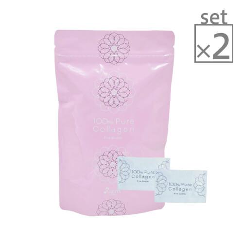 【2袋セット】100% ピュアコラーゲン [ コラーゲン / 粉末 / サプリ / サプリメント / パウダー / アミノ酸 / 無添加 ]【大好評】