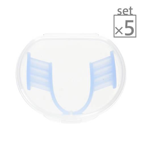 歯ぎしりピタリ 5個セット[ 歯ぎしり / マウスピース / マウスガード / 防止 / 対策 / ピタリ ]【大好評】
