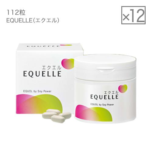 大塚製薬 エクエル 112粒×12箱(1ケース) [ エクオール 大豆イソフラボン サプリ 個 袋 ]【大好評】 母の日