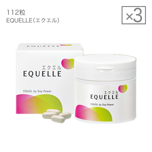 大塚製薬 エクエル 112粒×3個 [ エクオール 大豆イソフラボン サプリ 3個セット ]【大好評】