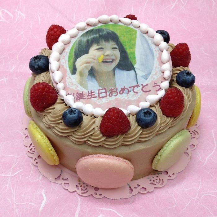 生チョコレートケーキ バースデーケーキ お誕生日 パーティー 記念日 サプライズ(丸)10号