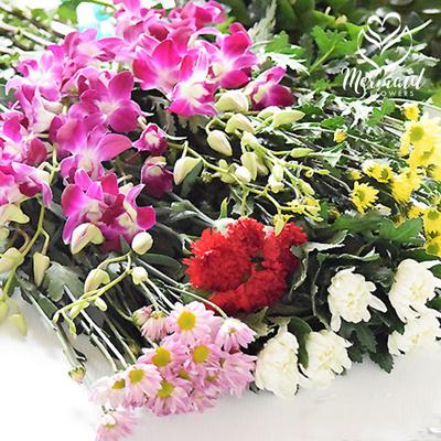 墓参り 仏壇 お供え 花 買い物に行けなくても お仏壇の花は大丈夫 25本セット お悔み 彼岸 ファッション通販 供える 和花 OUTLET SALE 菊 花束 供花 生花 長持ち お墓参