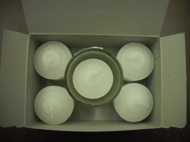 ブランド品 長時間灯しても安全 安心 蝋燭 カップローソク 8時間燃焼 売り込み ボーディブキャンドル 5ヶ入コップ付 亀山蝋燭