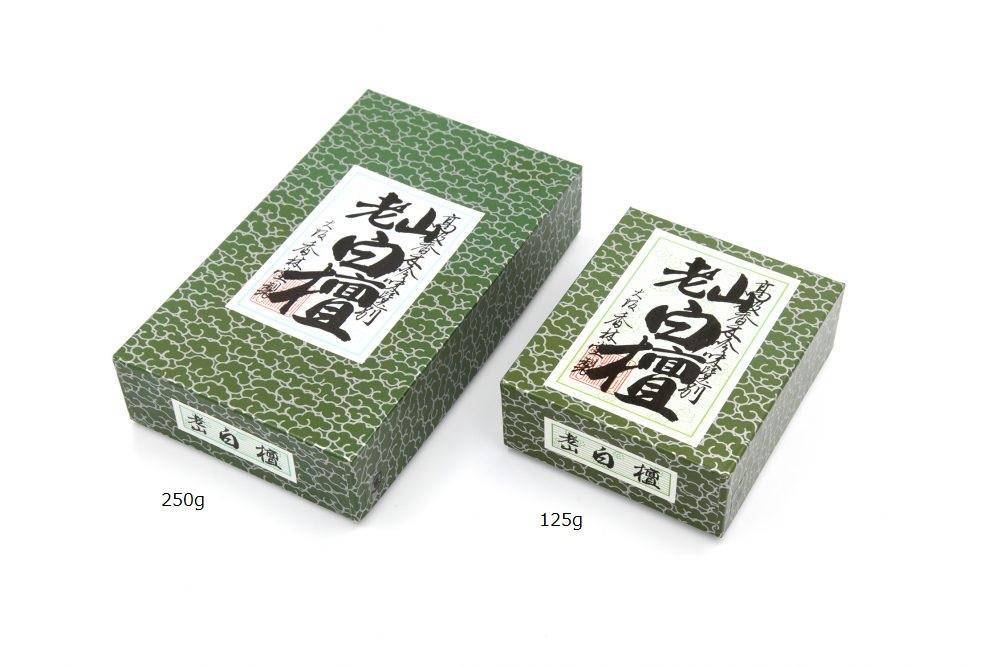 焼香 香林堂 日本製 びゃくだんこう 価格 交渉 送料無料 新商品 125g 白檀香
