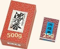 【焼香】【香林堂】日本製 沈檀香(じんだんこう) 500g