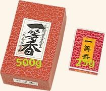 【焼香】【香林堂】日本製 一等香(いっとうこう) 500g