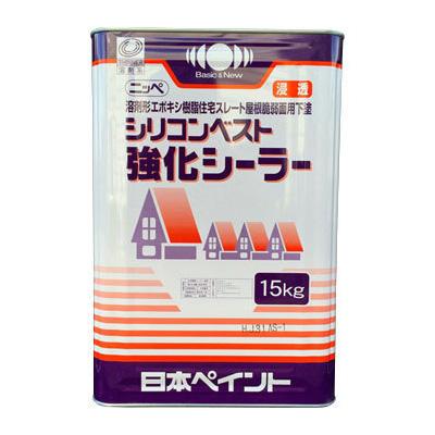 シリコンベスト強化シーラー 淡褐色透明 15kg(37~75平米/1回塗り)