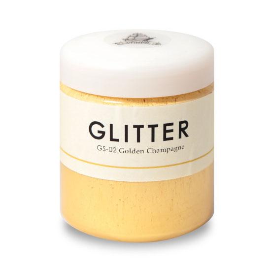 Glitter(グリッター) ゴールド・シルバー 200ml 5個セット (約10平米/1回塗り) グラフィティーペイント/キラキラ塗料/DIY/水性塗料
