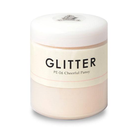 Glitter(グリッター) パール 200ml 5個セット (約10平米/1回塗り) グラフィティーペイント/キラキラ塗料/DIY/水性塗料