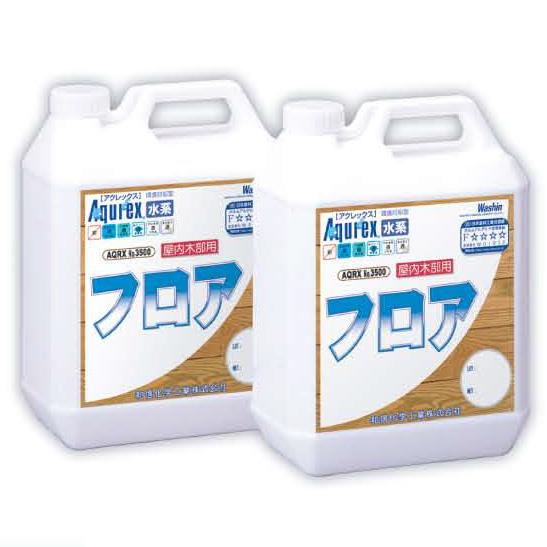 アクレックス フロア 16L(約52平米/3回塗り)【送料無料】AQRX/3500/水性/スポーツフロアに最適/水性1液ウレタン/和信化学