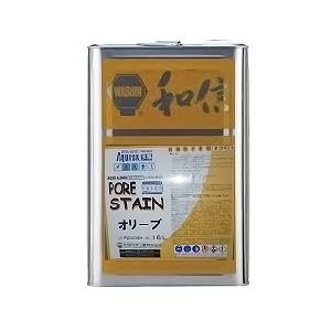 アクレックス ポアーステイン オリーブ 16L【送料無料】AQRX/3000/水性ステイン/和信化学