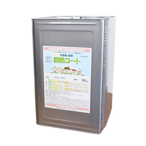 断熱コート 中彩色 10kg 約6~8平米/2回塗り 【送料無料】