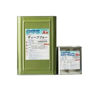 パラサーモシリコン外壁用 標準色 艶有り 16kgセット 約53~66平米/2回塗り 【送料無料】
