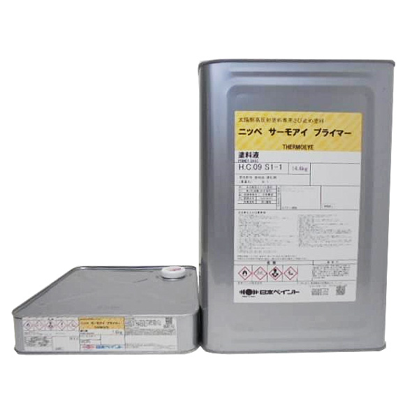 サーモアイプライマー 15kgセット【送料無料】 日本ペイント/屋根用/2液弱溶剤型エポキシ遮熱さび止めシーラー