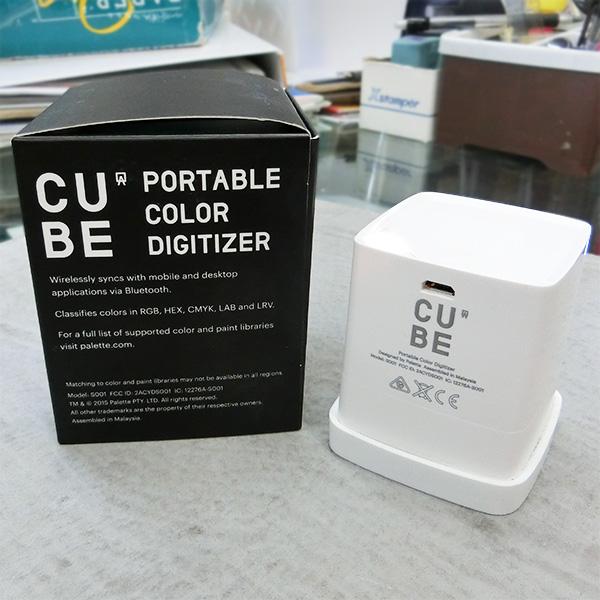 簡易測色ツール PaLette Cube ポータブルカラーピッカー 50mm×50mm×55mm【送料無料】 PaLette社/パレットキューブ/簡易測色ツール/ソフトウェア・トゥー