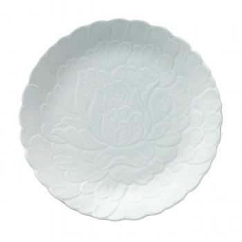 【代引き・同梱不可】NIKKO ニッコー 28cm大皿 藍がさね 7000-0128A:おひさまくらぶ