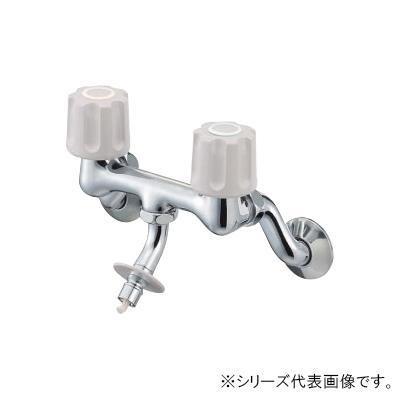 【代引き・同梱不可】三栄 SANEI U-MIX ツーバルブ洗濯機用混合栓 K1101TV-LH-13