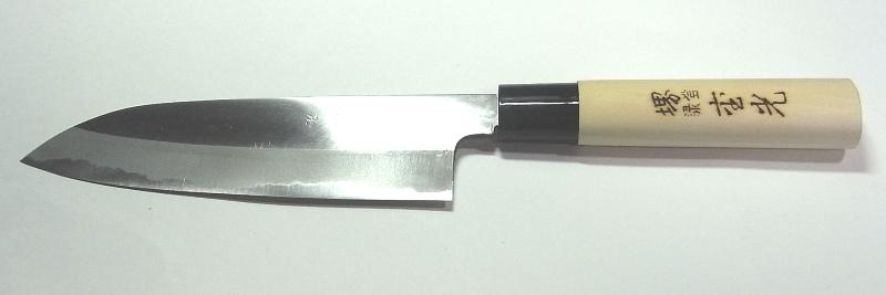 Shigemitsu product triple-purpose kitchen knife 180cm 両刃日本製堺刀司即納!