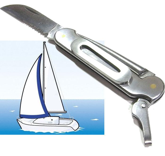 ロバートクラス(独)ヨットマンナイフ11cm オールステンレス