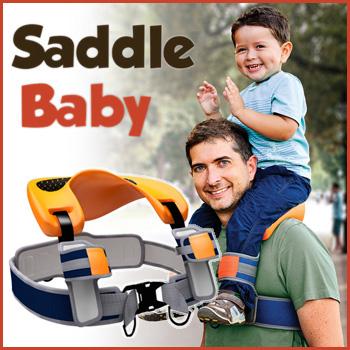 Saddle Baby original サドルベビー オリジナル 抱っこひも おんぶ紐 育児用品 育児グッズ 子育て 肩車補助 肩ぐるま【送料無料】【大川家具】【NZSS】【161117】【smtb-MS】