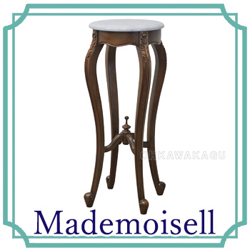 【7/13新着】Mademoisell(マドモアゼル) フラワースタンド-M 378022【送料無料】【大川家具】【TKAC】【180713】【smtb-MS】