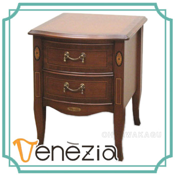Venezia(ベネチア) ナイトテーブル 778419【送料無料】【大川家具】【TKNT】【140827】【smtb-MS】【PONT10】【SSP】