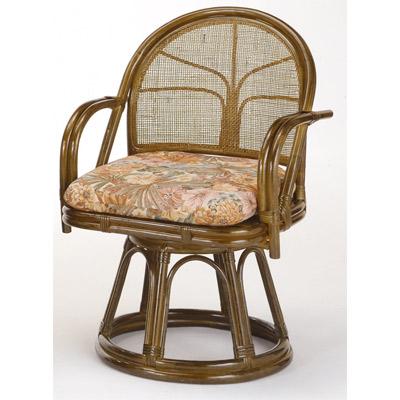 ラタン 籐 回転座椅子 ハイタイプ S304B【送料無料】【アジアン】【大川家具】【smtb-MS】【TPO】【KOU】
