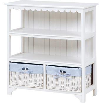 Wood Furniture キャビネット MCC-5780WH【送料無料】【大川家具】【HGAU】【smtb-MS】【冬収納】【HPO】【KOU】
