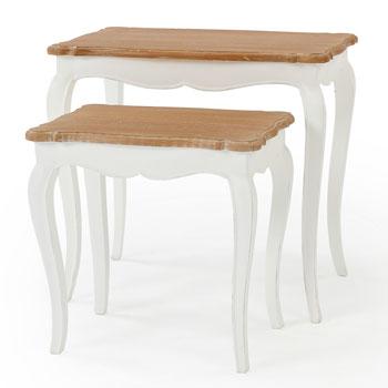 ETUDE ネストテーブル SAPJ-0013-WN【送料無料】【大川家具】【HGBTC】【130821】【smtb-MS】
