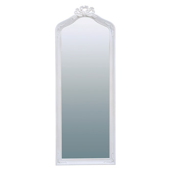 HAMPTON ミラー ハンプトン 鏡 姿見 マホガニー 白 ホワイト クラシック 上品 エレガント RD-1371AW【送料無料】【大川家具】【HGMW】【smtb-MS】