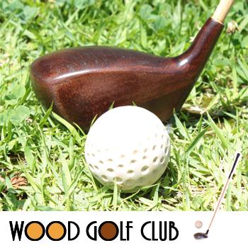 □よろこび エンジ色 木製ゴルフクラブ【送料無料】【大川家具】【KZASO】【FDT】【OBM】