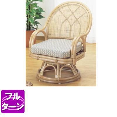 ラタン 籐 回転座椅子 ハイタイプ S366【送料無料】【大川家具】【smtb-MS】【TPO】【KOU】