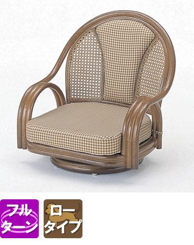 ◆ラタン 籐 ラウンドチェアー S531B【送料無料】【大川家具】【smtb-MS】【HPO】【KOU】