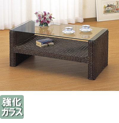 ◆ラタン 籐 テーブル T111B【送料無料】【大川家具】【smtb-MS】【HPO】【KOU】